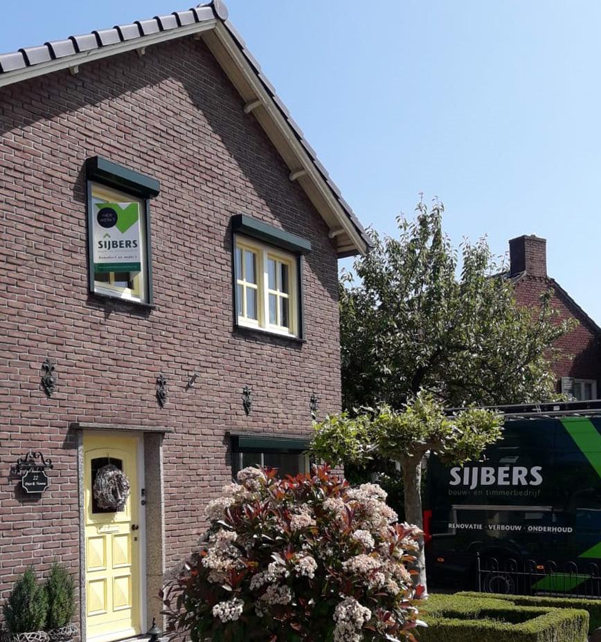 Hier werkt Sijbers bouw- en timmerbedrijf