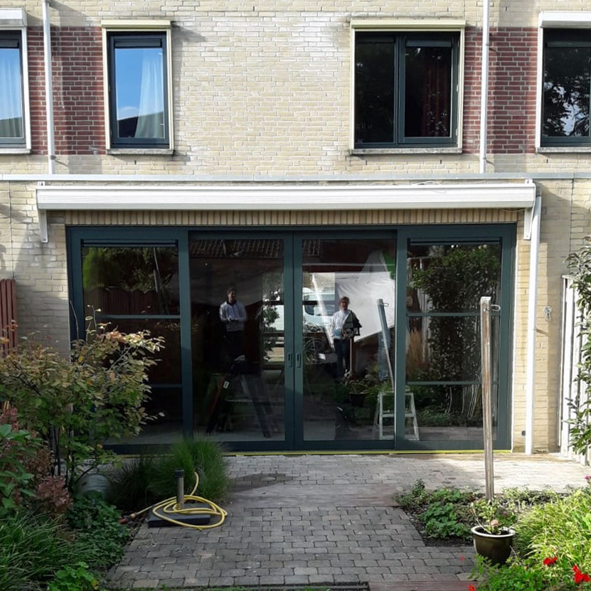 Nieuwe pui in Eindhoven