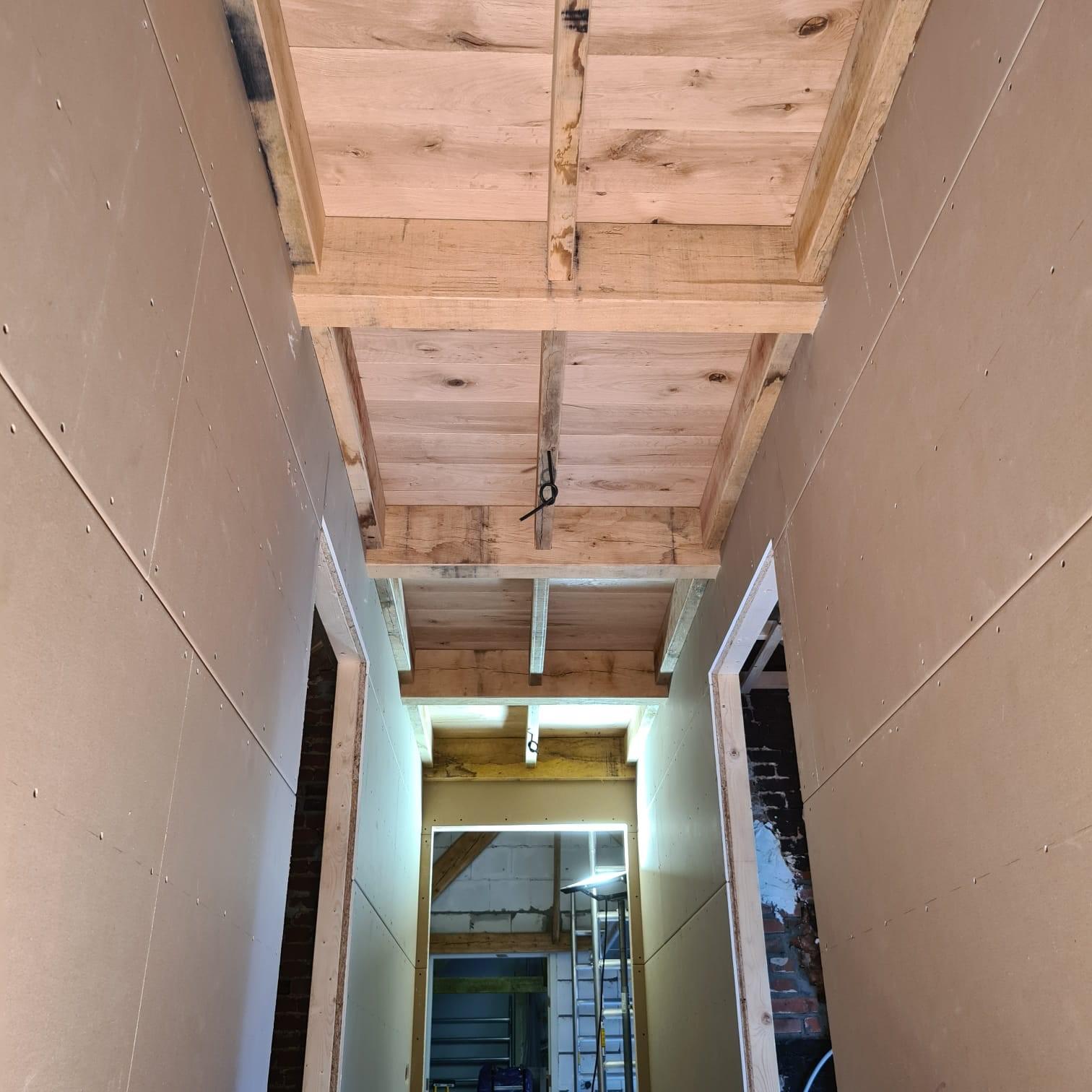 Eiken plafond